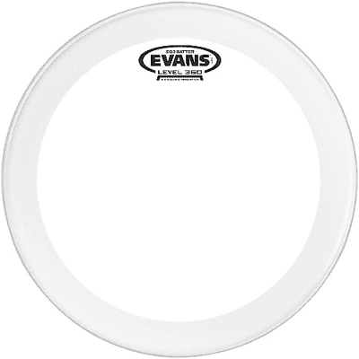 """Evans BD26GB3C EQ3 Frosted Bass Drum Head - 26"""""""