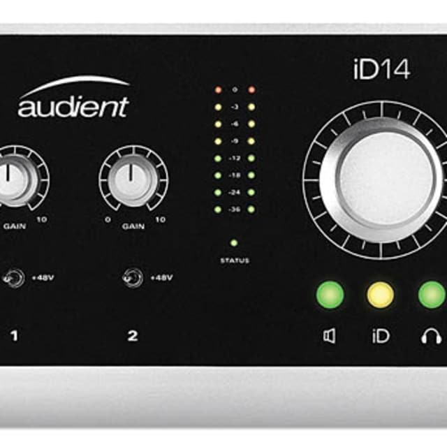 Audient iD14 10-In/4-Out Audio Interface 888680890698 image