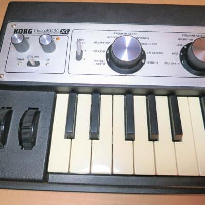 Korg MICROKORG XL Analog Synth Synthesizer micro korg keyboard