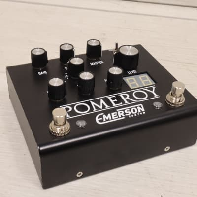 Emerson Pomeroy All Analog Boost / Overdrive / Distortion Effects Pedal Germanium and Silicon Diodes for sale