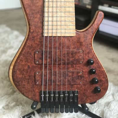 Prat Basses 8strings Active Custom hand made (%60 Off) for sale