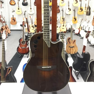 Applause Elite Acoustic Electric Guitar Vintage Varnish for sale