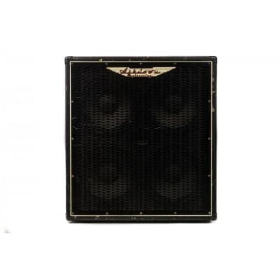 Ashdown ABM410H bass cabinet 2010s Black Tolex