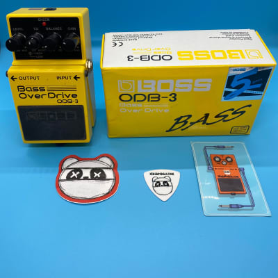 Boss ODB-3 Bass Overdrive w/Original Box   Fast Shipping!