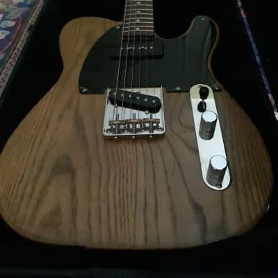 Valenti MountainMan Telecaster  -White Ash for sale