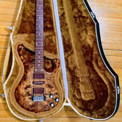 Fibenare Ed DeGenaro Dalmat 2012 Poplar Burl Top/Maple Neck for sale