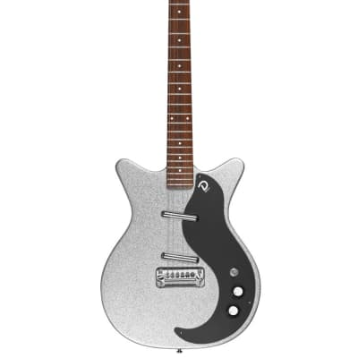Danelectro 59 NOS  Anniversary, Silver Metallic for sale