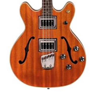 Guild Semi-Hollow Starfire Bass II, Rosewood Fretboard w/ Case - Natural for sale