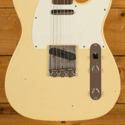 Fender Custom Shop '67 Tele Journeyman Relic Aged Vintage White for sale