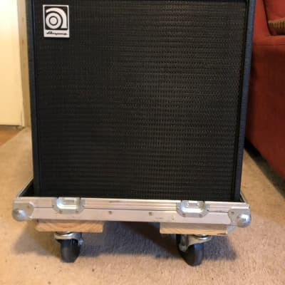 "Ampeg BA210-V2 2x10"" 450w Bass Combo with Road Case 2010s Black"