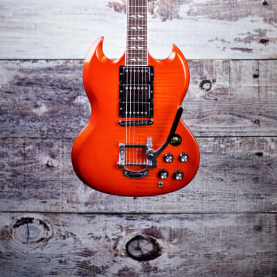 2013 Gibson SG Deluxe Bigsby Orange Burst for sale