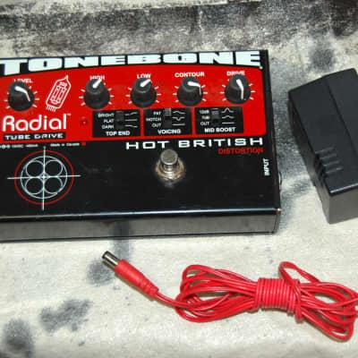 Radial ToneBone Hot British Distortion Pedal w/ Power Supply