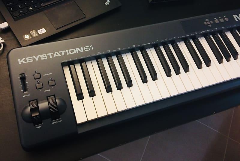 ca313db8b M-Audio Keystation 61 MkII MIDI Keyboard Controller - with