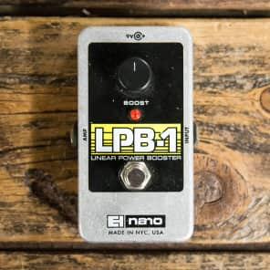Electro-Harmonix LPB-1 Linear Power Booster Nano