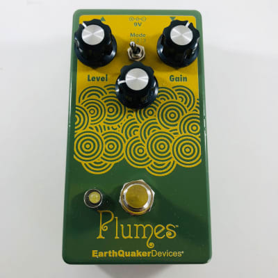 EarthQuaker Devices Plumes Small Signal Shredder Overdrive  *Sustainably Shipped*