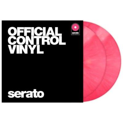 Rane Serato DJ Scratch Live Time Code Performance Control Vinyl V 2.5 Pair Pink