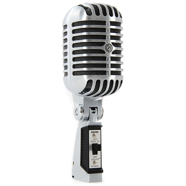 shure 55sh series ii dynamic vocal microphone geartree reverb. Black Bedroom Furniture Sets. Home Design Ideas