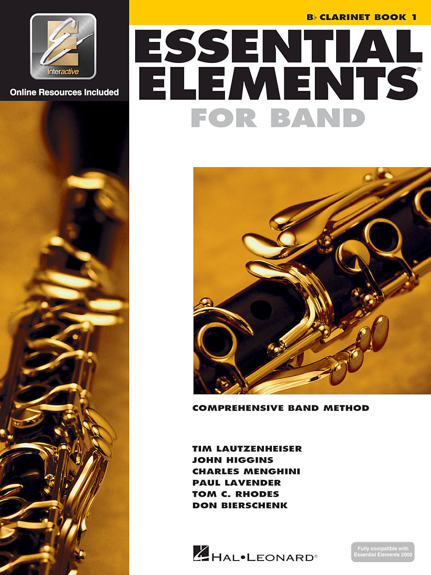 Hal Leonard Essential Elements Clarinet 10 Pk.