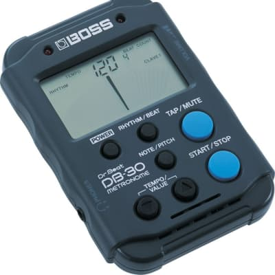 Boss DB-30 Dr. Beat Pocket-Size Clip-On Drum Metronome with Tap Tempo