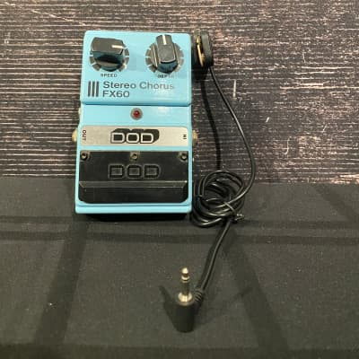 DOD FX60 Stereo Chorus Effect Pedal 1984 for sale