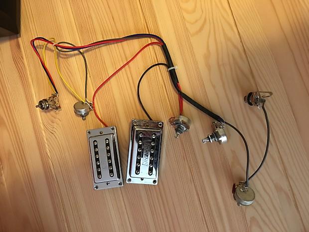 humbucker guitar wiring harness diagram gretsch guitar wiring harness gretsch electromatic pickups & wiring harness | reverb #7