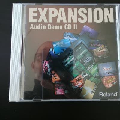 Roland Expansion Demo CD for Roland SR-JV80 Boards