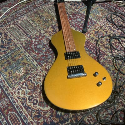 Asher Guitars Asher Electro Hawaiian Junior Pro Gold burst Lap Steel for sale