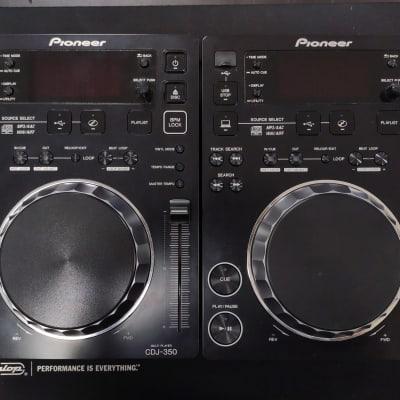 2x Pioneer CDJ-350 Black Excellent