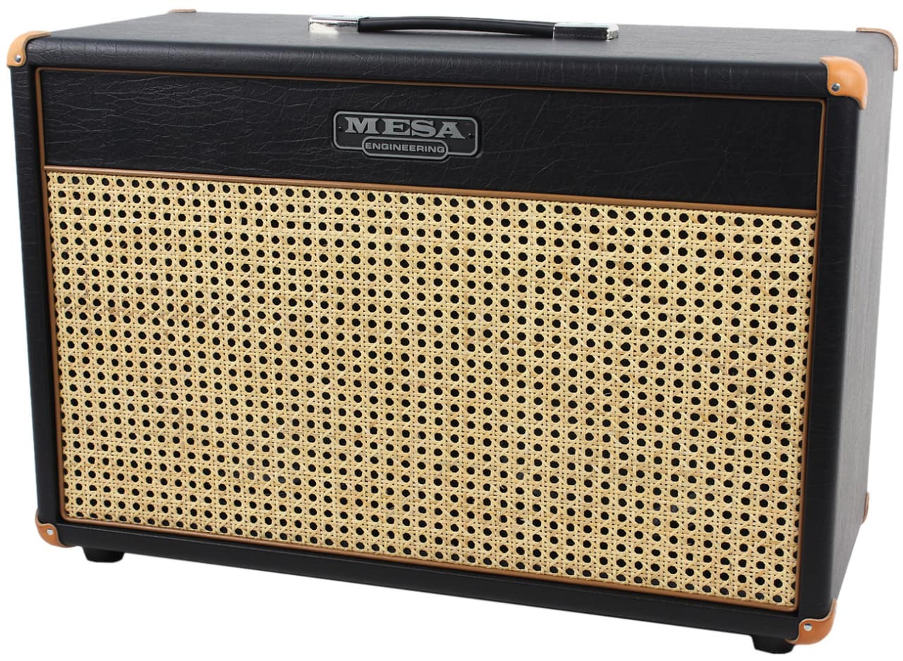 Mesa boogie 2x12 lone star cab wicker grill reverb for Mesa boogie lonestar 2x12