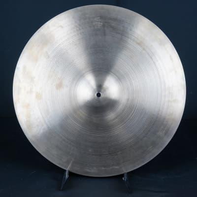 """Vintage 60s Zildjian A 20"""" Ride Cymbal"""