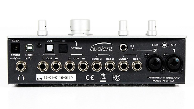 audient id22 usb audio interface pixel pro audio reverb. Black Bedroom Furniture Sets. Home Design Ideas