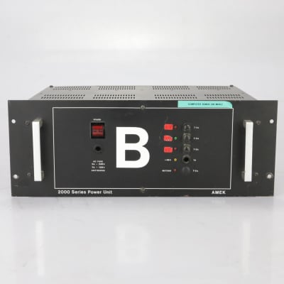 AMEK 2000 Series Power Supply Unit for Console #37763