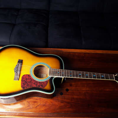 Randy JackSon American Tribute Collection | Acoustic/Electric | Case | Built-in Tuner & EQ | FreeUPS for sale