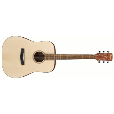 Ibanez PF10 Dreadnought Acoustic, Open Pore Natural for sale