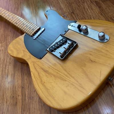 Fender Telecaster '52 Reissue Vintage 'Order Made' FujiGen A-Serial 1987 Natural Ash / Butterscotch