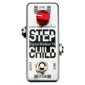 Electro Faustus EF108 Step Child Kill Switch Stutter Pedal