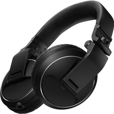 Pioneer HDJ-X5-K Over-Ear DJ Headphones in Black