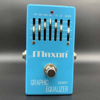 Maxon GE601 Graphic Equalizer w/Original Box for sale