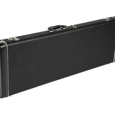 Fender G&G Standard Hardshell Case - Mustang - Jag-Stang - Cyclone - Duo-Sonic Black w/ Black Interior for sale