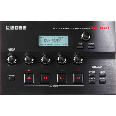Boss GT-001 Electric Guitar Multi-Effects Processor for sale