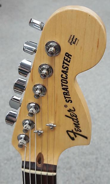 Fender Stratocaster Neck >> Fender Stratocaster HSS Original Contour Body 2009 Black | Reverb
