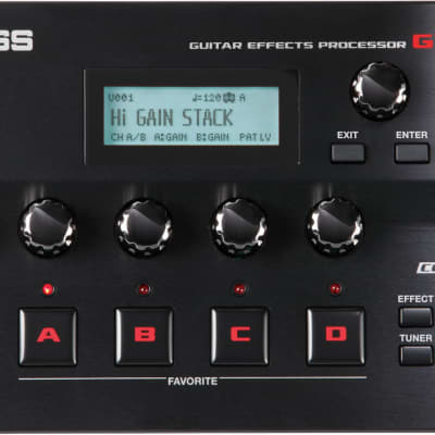 Boss GT-001 Tabletop Effects Processor - Boss GT-001 Tabletop Effects Processor for sale
