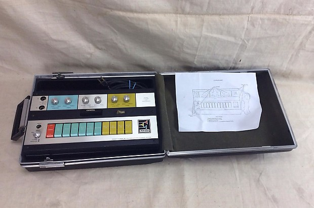Vintage Maestro W2 Sound System for Woodwinds Circa 1969 Modified for Guitar
