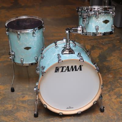 Tama 3pc Starclassic Birch/Walnut Shell Pack Ice Blue Pearl