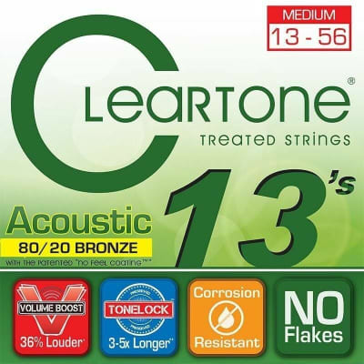 Cleartone Acoustic 80/20 Bronze  M 13 - 56