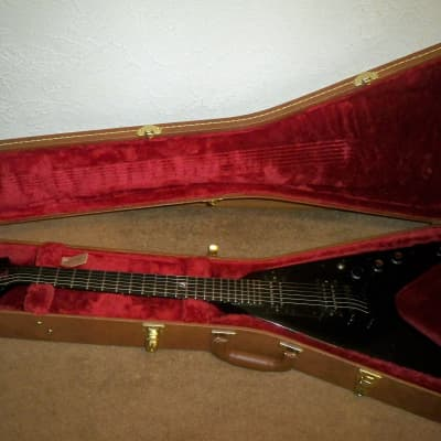 1999 Gibson Flying V Gothic Ebony Satin Finish for sale