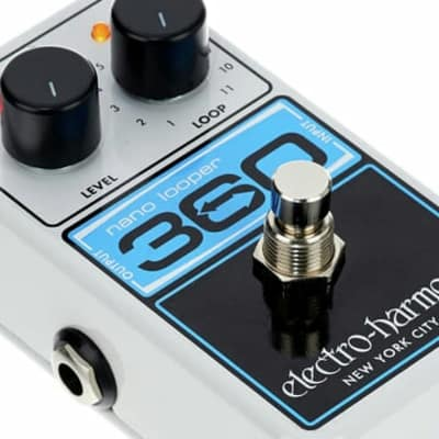 Electro-Harmonix 360 NANO LOOPER pedal. New with Full Warranty!