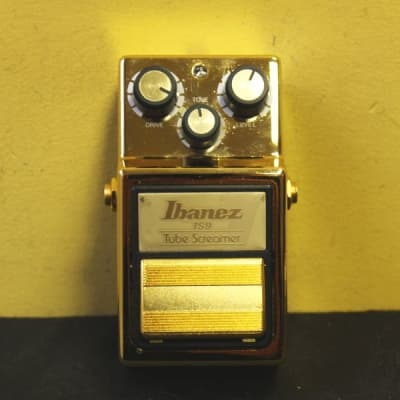 Ibanez TS9 Tube Screamer Gold Limited Edition Japan for sale