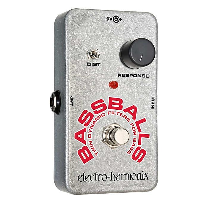 Electro-Harmonix EHX Bassballs Twin Dynamic Envelope Filter Effects Pedal