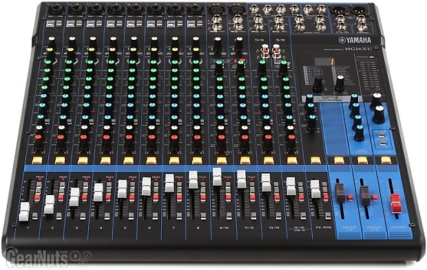 yamaha mg16xu mixer with usb and fx gearnuts reverb. Black Bedroom Furniture Sets. Home Design Ideas